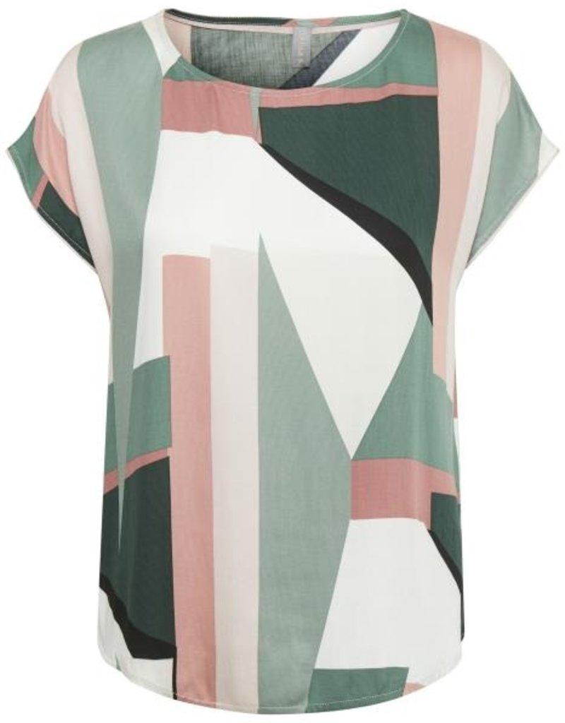 Tee-shirt abstrait