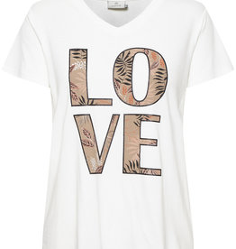 KAFFE Tee-shirt Love