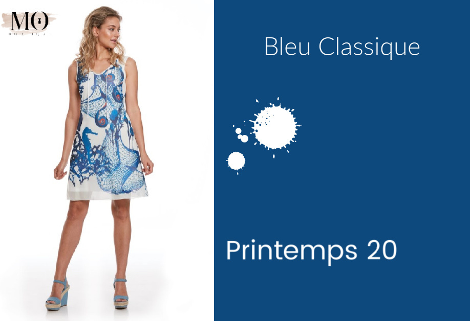 BLEU CLASSIQUE - Printemps 2020 - TENDANCE COULEUR
