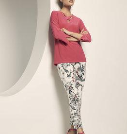 LISETTE L Pantalon fleuri 61302