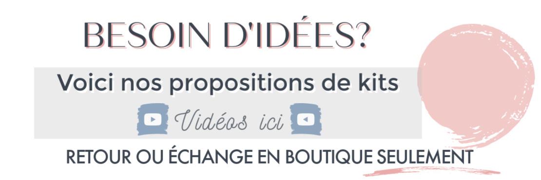 Nos propositions de kits - LOOKS TENDANCE 2020