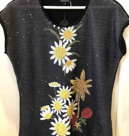 MODE TRICOTTO Tee-shirt Fleurs