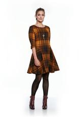 LUC FONTAINE Robe à carreaux IRISH