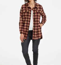 KAFFE Veste chemise à carreaux