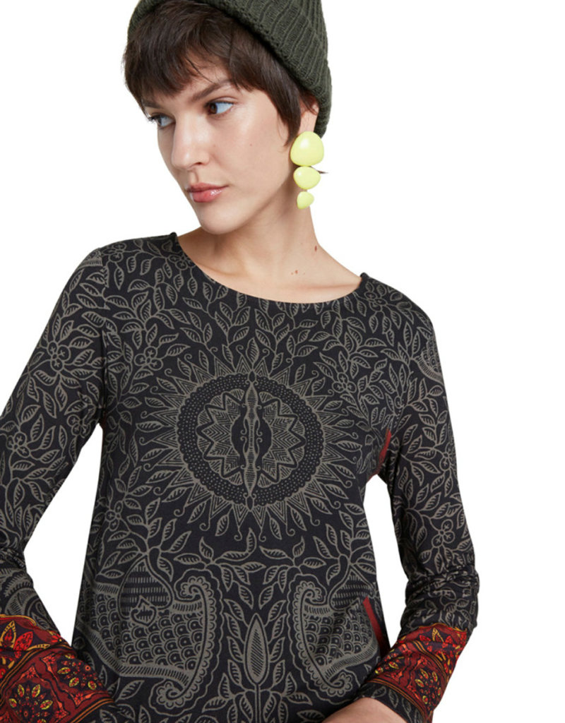 DESIGUAL Robe à frisons 20WWVKA4