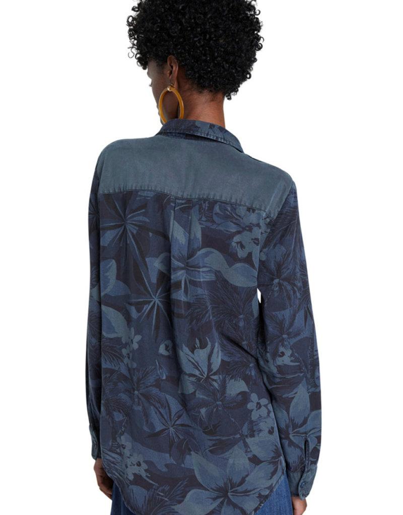 DESIGUAL Blouse bleue