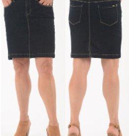 LOIS JEANS Jupe de jeans foncée