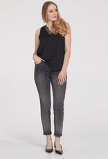 TRIBAL Jeans gris à brillants