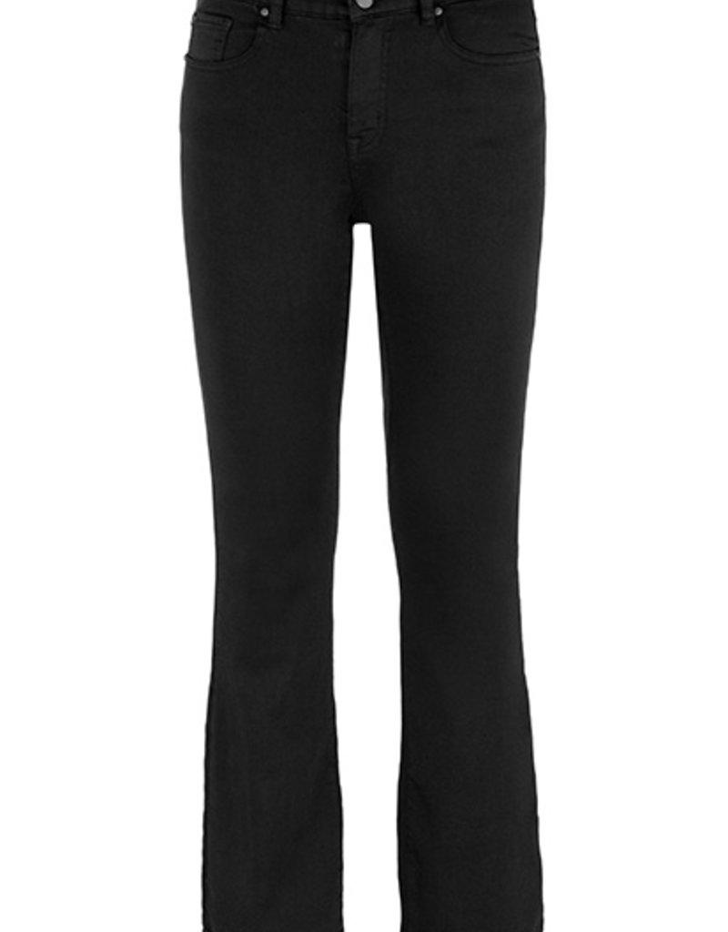 TRIBAL Jeans noir légèrement flare