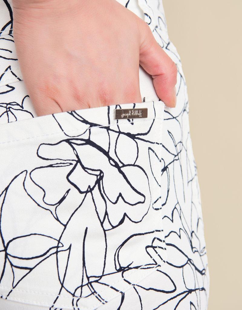 JOSEPH RIBKOFF Pantalon à fleurs 211978