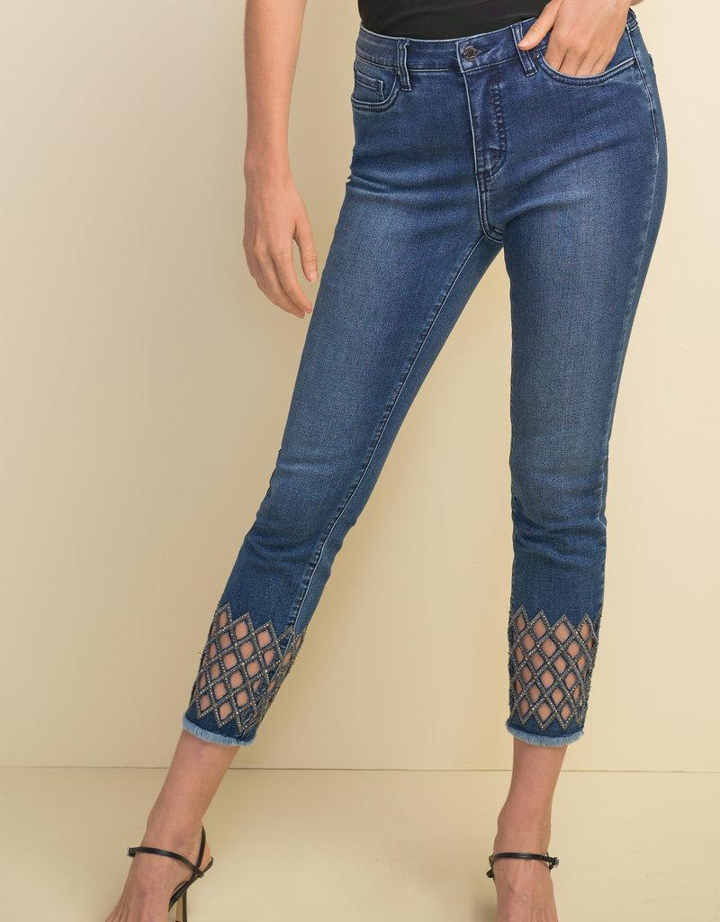 JOSEPH RIBKOFF Jeans brillant 211967