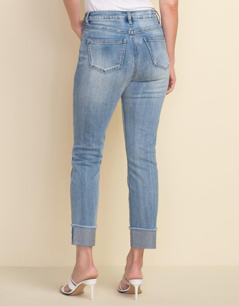 JOSEPH RIBKOFF Jeans pâle 212915