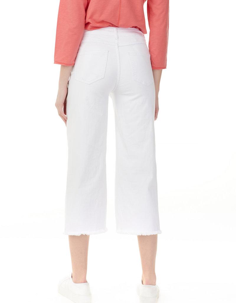 CHARLIE B Jeans évasé blanc