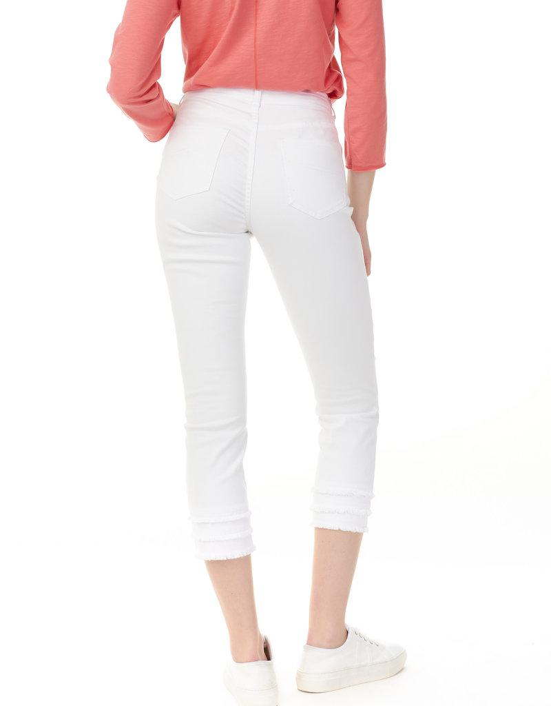 CHARLIE B Jeans kaki ou  blanc