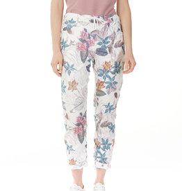 CHARLIE B Pantalon à fleurs