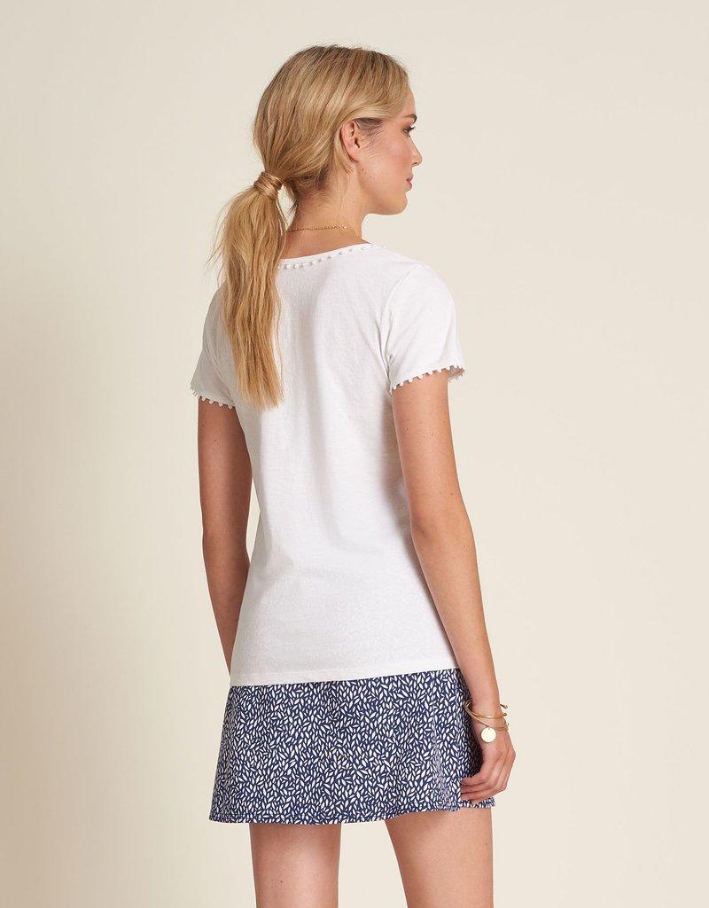 HATLEY Tee-shirt blanc