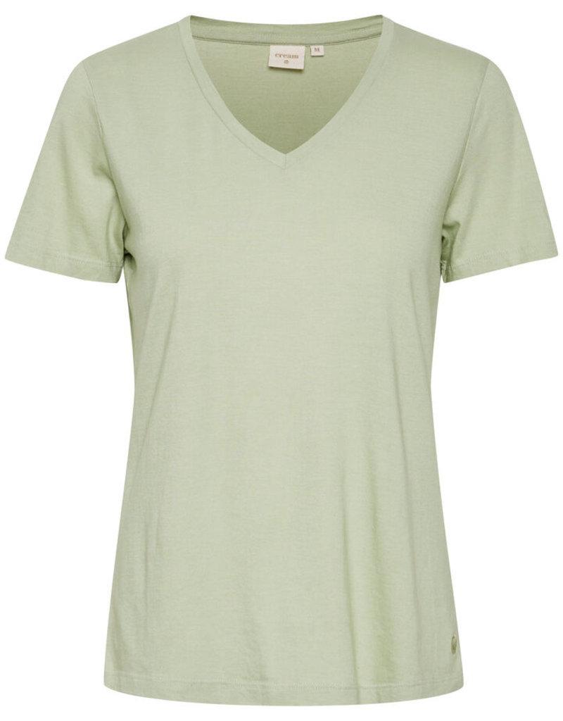 CREAM Tee-shirt col en V