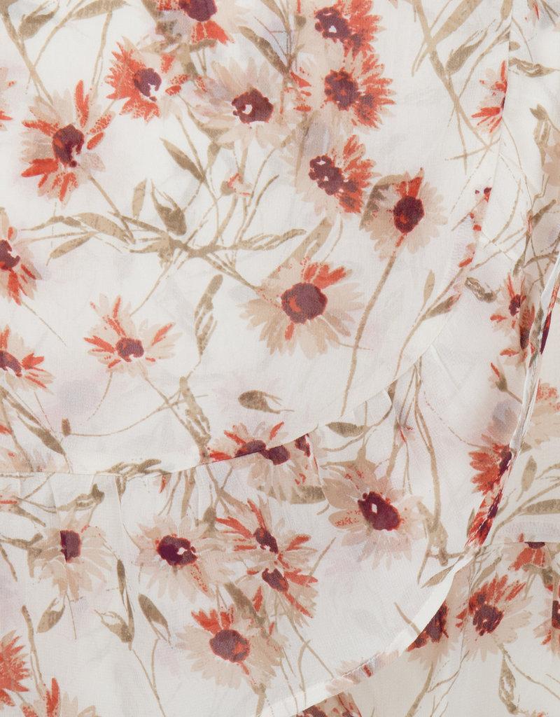 ESQUALO Jupe sable à fleurs
