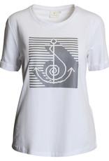 BRANDTEX Tee-shirt blanc Ancre