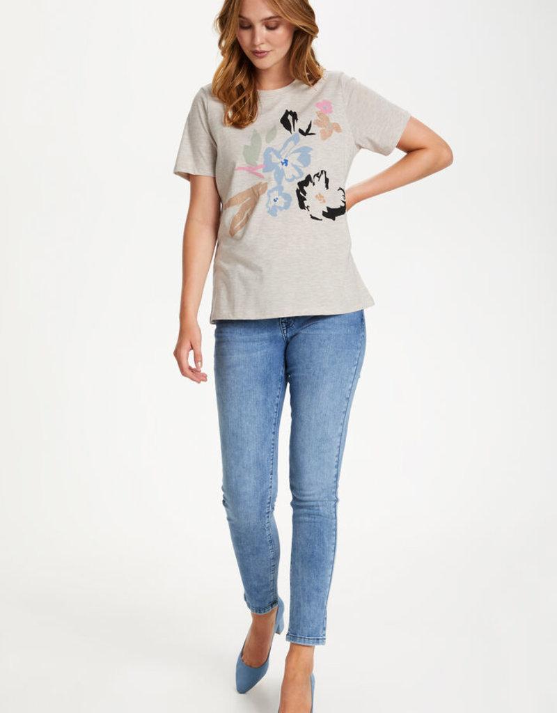 SAINT TROPEZ Tee-shirt à motifs
