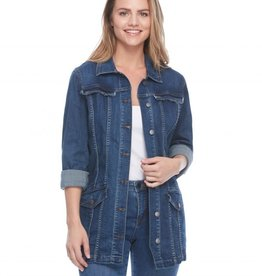 FDJ FRENCH DRESSING JEANS Veste jeans longue