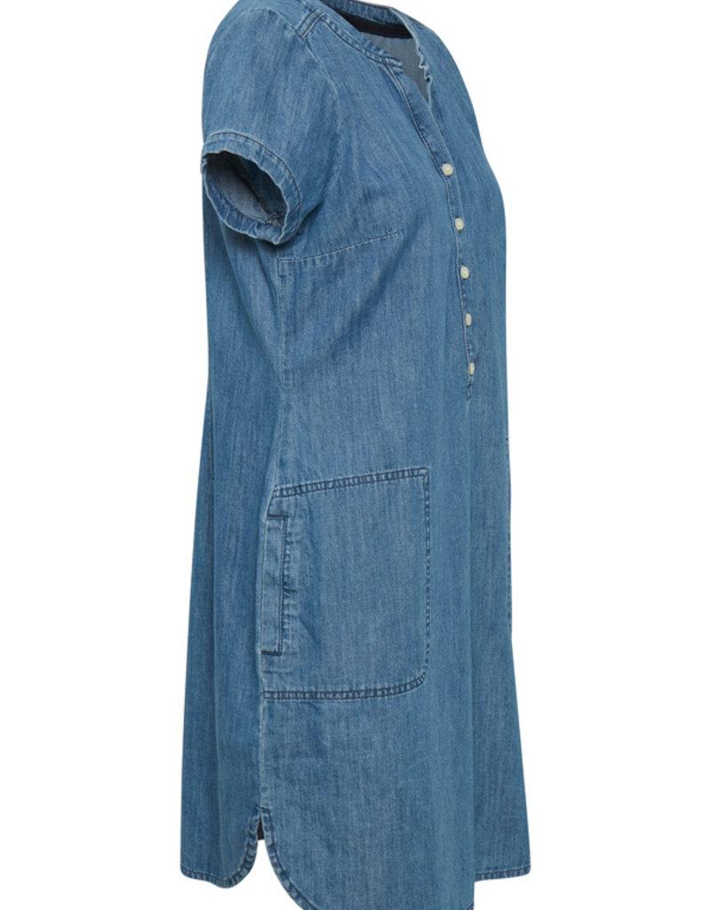 PART TWO Robe en jeans