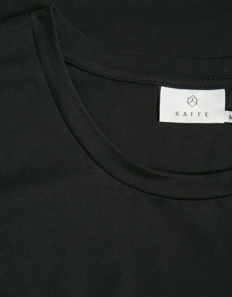 KAFFE Chandail noir