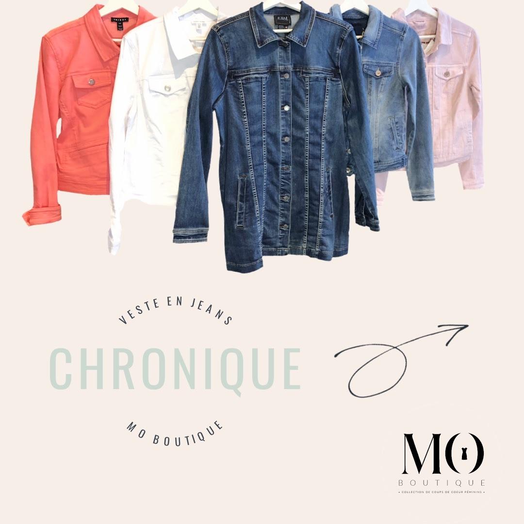 CHRONIQUE MODE - Veste en jeans