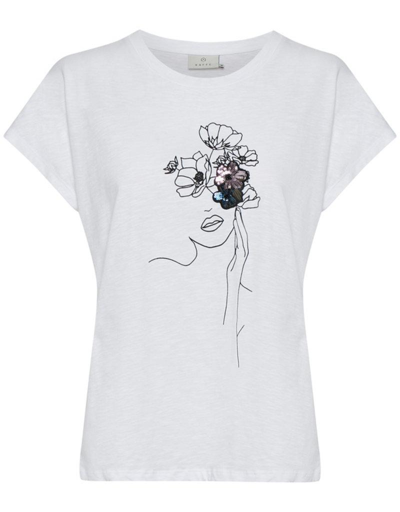 KAFFE Tee-shirt artistique
