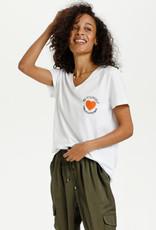 KAFFE Tee-shirt Be Yourself