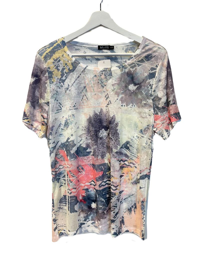 MOFFI Tee-shirt à motifs