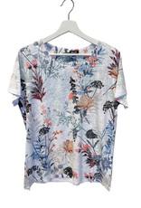 MOFFI Tee-shirt fleuri