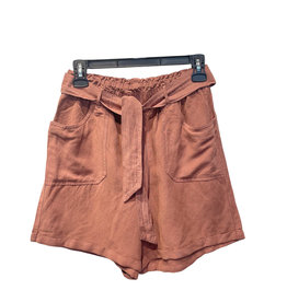 TRIBAL Short ample brun