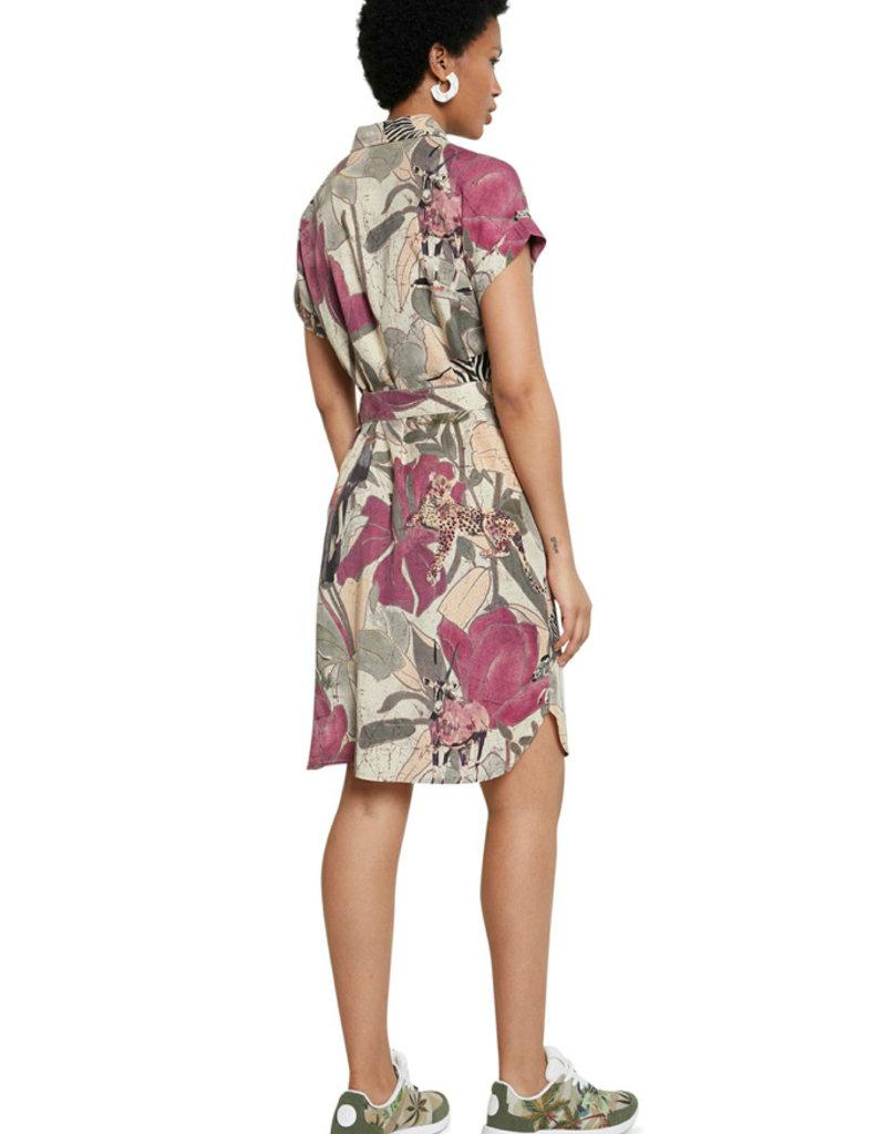 DESIGUAL Robe fleurie