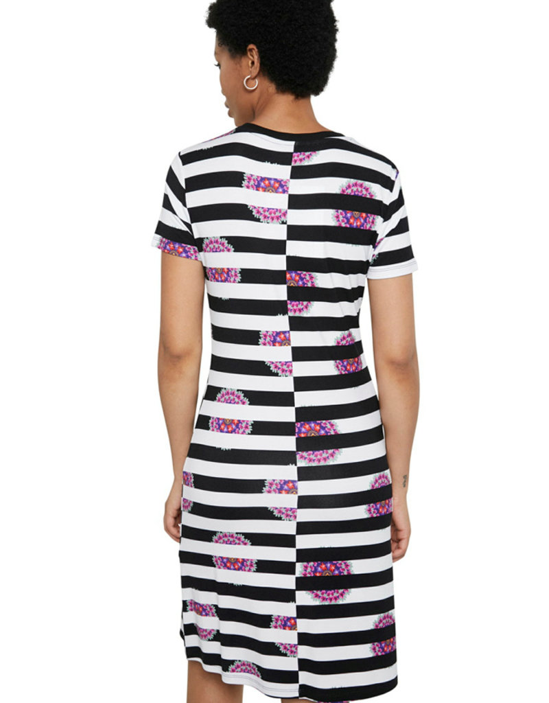 DESIGUAL Robe à rayures
