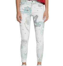 DESIGUAL Pantalon à motifs