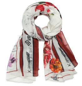 DESIGUAL Foulard fleuri