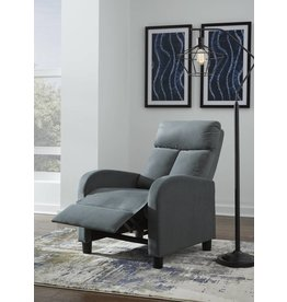 Benchcraft Welzow Low Leg Recliner- Gray 5920130