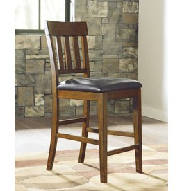 Signature Design Ralene- Counter Height UPHOLSTERED BARSTOOL D594-124
