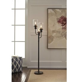 Signature Design JAAK- BRONZE FINISH METAL FLOOR LAMP (1/CN) L207171