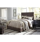Benchcraft Dolante- KING UPHOLSTERED BED- Brown B130-282