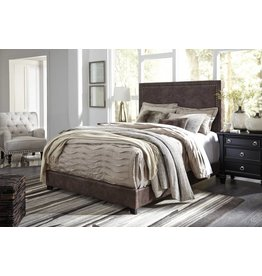 Benchcraft BROWN B130-282 Dolante KING UPHOLSTERED BED