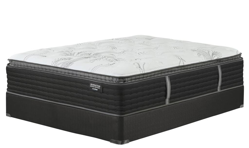 Sierra Sleep Queen Foundation- Black M80X32