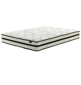 Sierra Sleep Twin Mattress- Chime 10 inch Hybrid- White M69611