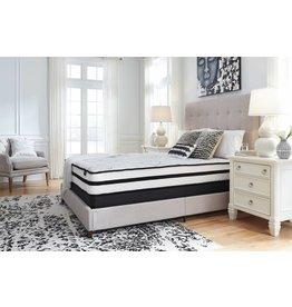 Sierra Sleep Queen Mattress- Chime 10 Inch Hybrid- White M69631