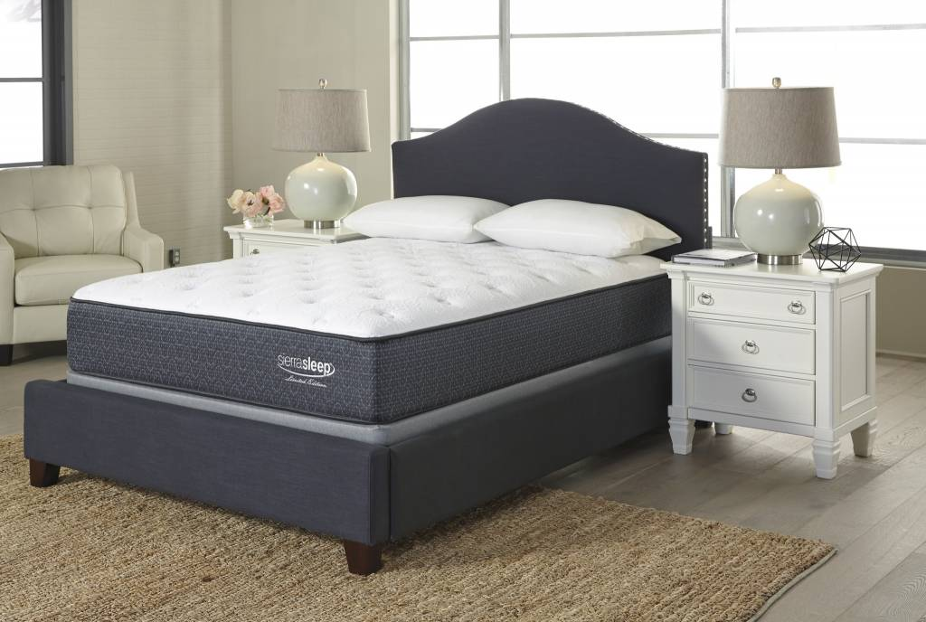 Sierra Sleep Twin Mattress- Limited Edition Plush- White M79811
