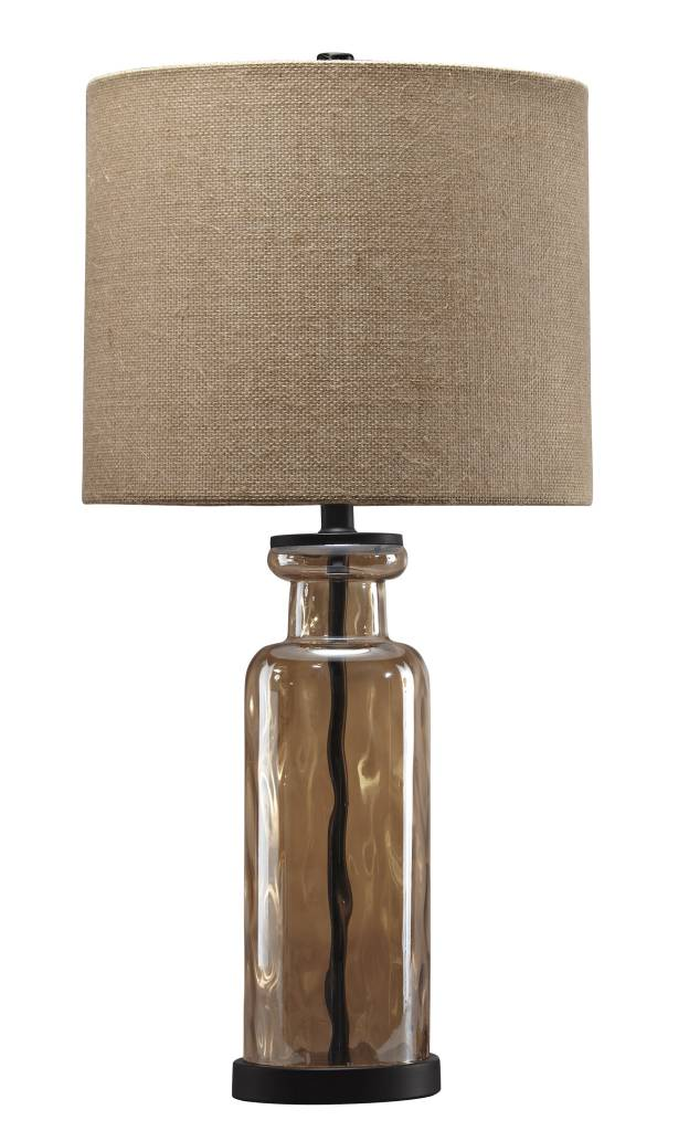 Laurentia Glass Table Lamp- Champagne