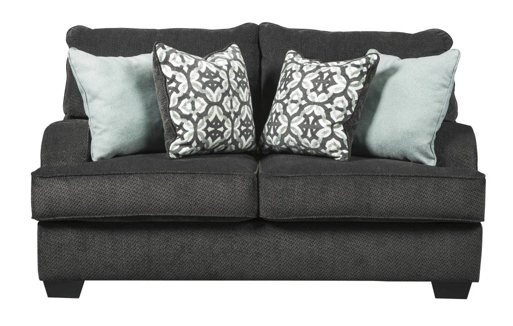 Signature Design Charenton Loveseat- Charcoal 1410135
