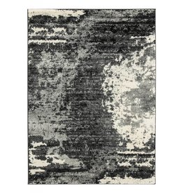 "Signature Design Roskos- Black, Gray and White Area Rug 60""X84"""