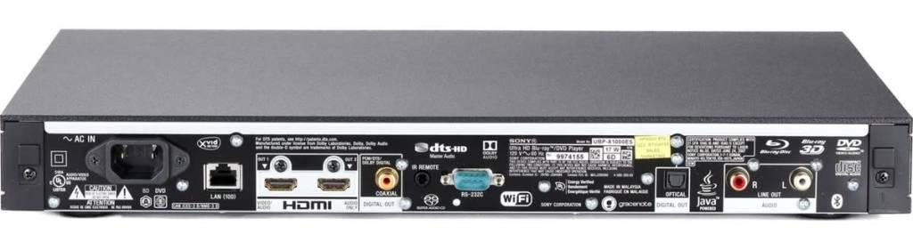 Sony Sony UBP-X1100ES 4K Blu-ray Player